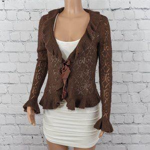 Next Era brown knit cardigan